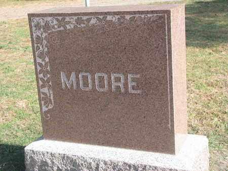 MOORE, *FAMILY STONE - Union County, South Dakota   *FAMILY STONE MOORE - South Dakota Gravestone Photos