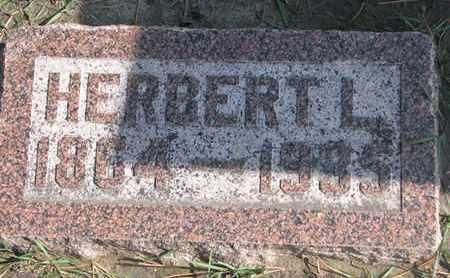 MOORE, HERBERT L. - Union County, South Dakota | HERBERT L. MOORE - South Dakota Gravestone Photos