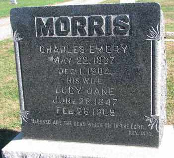 MORRIS, CHARLES EMORY - Union County, South Dakota   CHARLES EMORY MORRIS - South Dakota Gravestone Photos
