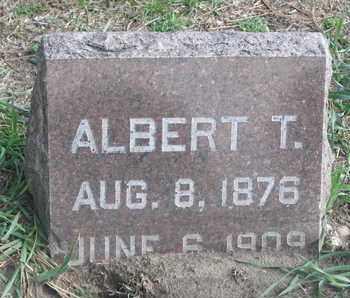 MUNSON, ALBERT T. - Union County, South Dakota | ALBERT T. MUNSON - South Dakota Gravestone Photos