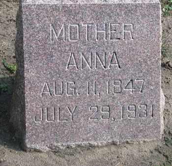 MUNSON, ANNA - Union County, South Dakota | ANNA MUNSON - South Dakota Gravestone Photos
