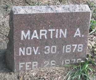 MUNSON, MARTIN A. - Union County, South Dakota   MARTIN A. MUNSON - South Dakota Gravestone Photos