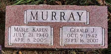 MURRAY, GERALD J - Union County, South Dakota | GERALD J MURRAY - South Dakota Gravestone Photos