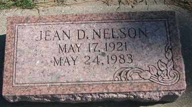 NELSON, JEAN D. - Union County, South Dakota | JEAN D. NELSON - South Dakota Gravestone Photos