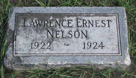 NELSON, LAWRENCE ERNEST - Union County, South Dakota | LAWRENCE ERNEST NELSON - South Dakota Gravestone Photos