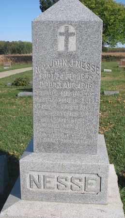 "NESSE, JOHN J. ""REV."" - Union County, South Dakota | JOHN J. ""REV."" NESSE - South Dakota Gravestone Photos"