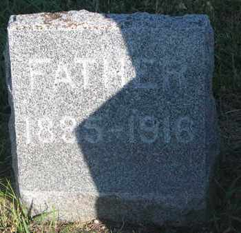 "NESSE, JOHN J. ""REV."" (FOOTSTONE) - Union County, South Dakota   JOHN J. ""REV."" (FOOTSTONE) NESSE - South Dakota Gravestone Photos"