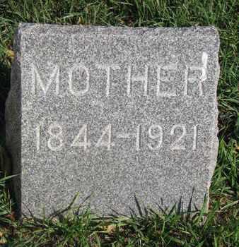 NESSE, MOTHER - Union County, South Dakota | MOTHER NESSE - South Dakota Gravestone Photos