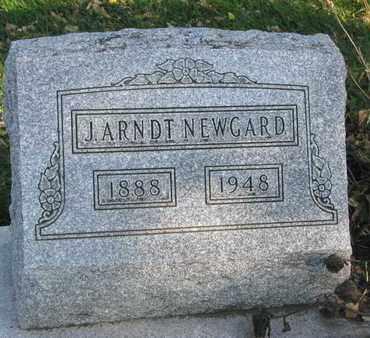 NEWGARD, J. ARNDT - Union County, South Dakota | J. ARNDT NEWGARD - South Dakota Gravestone Photos