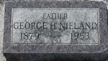 NIELAND, GEORGE H - Union County, South Dakota | GEORGE H NIELAND - South Dakota Gravestone Photos