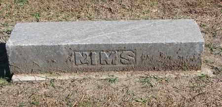 NIMS, PLOT MARKER - Union County, South Dakota | PLOT MARKER NIMS - South Dakota Gravestone Photos