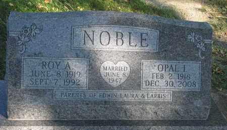NOBLE, OPAL I. - Union County, South Dakota   OPAL I. NOBLE - South Dakota Gravestone Photos