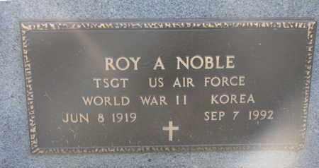 NOBLE, ROY A. (KOREA) - Union County, South Dakota | ROY A. (KOREA) NOBLE - South Dakota Gravestone Photos