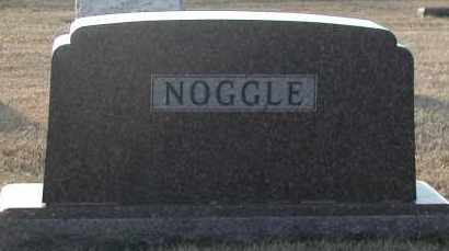 NOGGLE, PLOT - Union County, South Dakota | PLOT NOGGLE - South Dakota Gravestone Photos