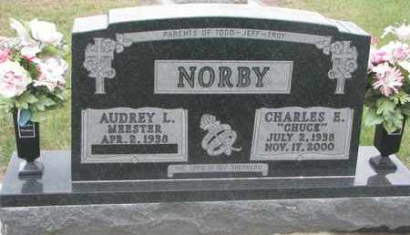 WEBSTER NORBY, AUDREY L. - Union County, South Dakota | AUDREY L. WEBSTER NORBY - South Dakota Gravestone Photos