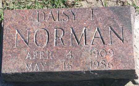 NORMAN, DAISY F. - Union County, South Dakota | DAISY F. NORMAN - South Dakota Gravestone Photos