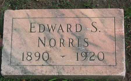 NORRIS, EDWARD S. - Union County, South Dakota   EDWARD S. NORRIS - South Dakota Gravestone Photos