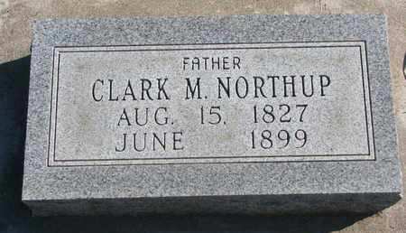 NORTHUP, CLARK M. - Union County, South Dakota | CLARK M. NORTHUP - South Dakota Gravestone Photos