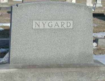 NYGARD, *PLOT - Union County, South Dakota | *PLOT NYGARD - South Dakota Gravestone Photos