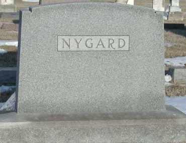 NYGARD, *PLOT - Union County, South Dakota   *PLOT NYGARD - South Dakota Gravestone Photos