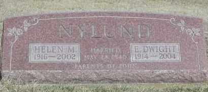 NYLUND, HELEN M. - Union County, South Dakota | HELEN M. NYLUND - South Dakota Gravestone Photos