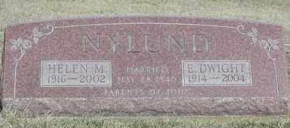 NYLUND, HELEN M. - Union County, South Dakota | HELEN M. NYLUND - South Dakota Gravestone Photos