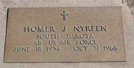 NYREEN, HOMER J. (MILITARY) - Union County, South Dakota | HOMER J. (MILITARY) NYREEN - South Dakota Gravestone Photos