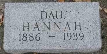 OAKES, HANNAH ERIKA - Union County, South Dakota | HANNAH ERIKA OAKES - South Dakota Gravestone Photos