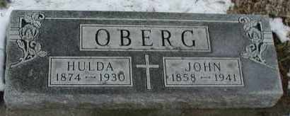 OBERG, JOHN - Union County, South Dakota | JOHN OBERG - South Dakota Gravestone Photos
