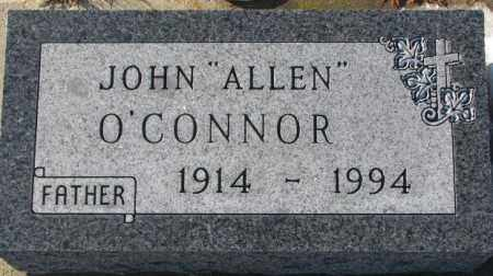 "O'CONNOR, JOHN ""ALLEN"" - Union County, South Dakota   JOHN ""ALLEN"" O'CONNOR - South Dakota Gravestone Photos"
