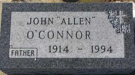 "O'CONNOR, JOHN ""ALLEN"" - Union County, South Dakota | JOHN ""ALLEN"" O'CONNOR - South Dakota Gravestone Photos"