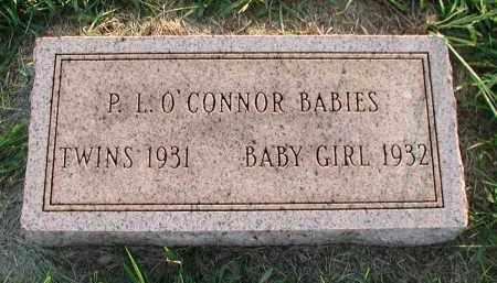 O'CONNOR, P. L. BABY GIRL - Union County, South Dakota | P. L. BABY GIRL O'CONNOR - South Dakota Gravestone Photos