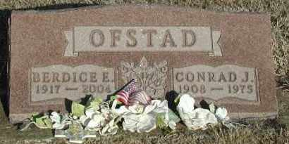 OFSTAD, CONRAD J - Union County, South Dakota | CONRAD J OFSTAD - South Dakota Gravestone Photos