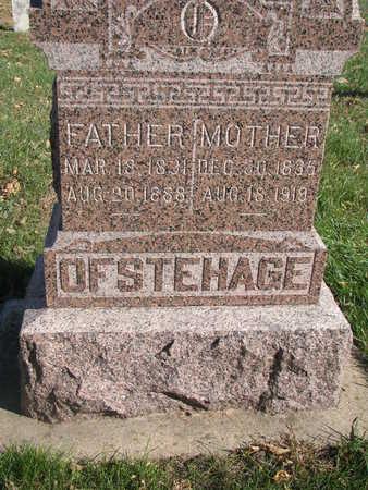 OFSTEHAGE, MOTHER - Union County, South Dakota   MOTHER OFSTEHAGE - South Dakota Gravestone Photos