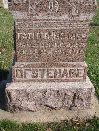 OFSTEHAGE, MOTHER - Union County, South Dakota | MOTHER OFSTEHAGE - South Dakota Gravestone Photos