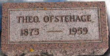 OFSTEHAGE, THEO. - Union County, South Dakota   THEO. OFSTEHAGE - South Dakota Gravestone Photos