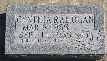 OGAN, CYNTHIA RAE - Union County, South Dakota   CYNTHIA RAE OGAN - South Dakota Gravestone Photos