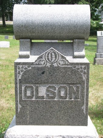 OLSON, *FAMILY MONUMENT-ALBERT, CARL, ELLEN, SOPHIA & WILLIAM - Union County, South Dakota | *FAMILY MONUMENT-ALBERT, CARL, ELLEN, SOPHIA & WILLIAM OLSON - South Dakota Gravestone Photos