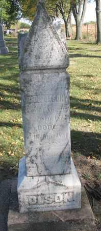 OLSON, ANNE - Union County, South Dakota   ANNE OLSON - South Dakota Gravestone Photos