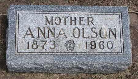 OLSON, ANNA - Union County, South Dakota | ANNA OLSON - South Dakota Gravestone Photos