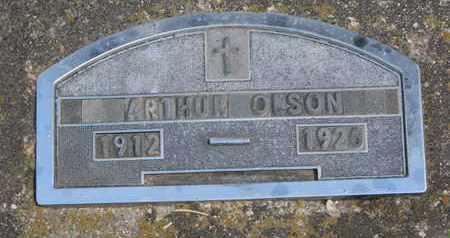 OLSON, ARTHUR - Union County, South Dakota | ARTHUR OLSON - South Dakota Gravestone Photos