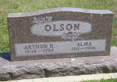 OLSON, ARTHUR R. - Union County, South Dakota | ARTHUR R. OLSON - South Dakota Gravestone Photos