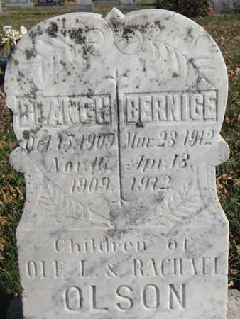 OLSON, BERNICE - Union County, South Dakota | BERNICE OLSON - South Dakota Gravestone Photos
