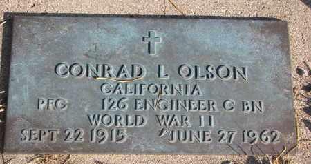 OLSON, CONRAD L. (WORLD WAR II) - Union County, South Dakota | CONRAD L. (WORLD WAR II) OLSON - South Dakota Gravestone Photos
