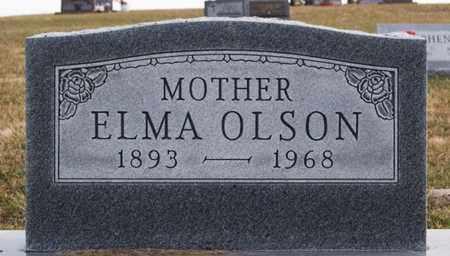 OLSON, ELMA - Union County, South Dakota | ELMA OLSON - South Dakota Gravestone Photos