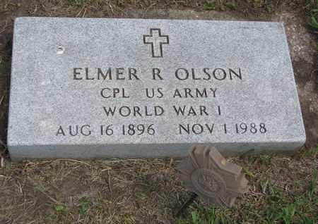 OLSON, ELMER R. - Union County, South Dakota | ELMER R. OLSON - South Dakota Gravestone Photos