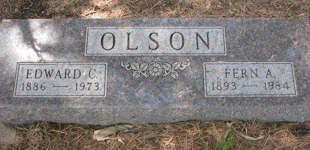 OLSON, FERN A. - Union County, South Dakota | FERN A. OLSON - South Dakota Gravestone Photos