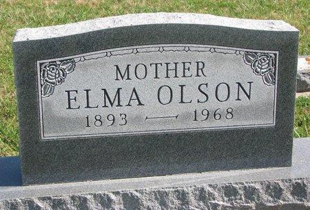 OLSON, ELMA - Union County, South Dakota   ELMA OLSON - South Dakota Gravestone Photos