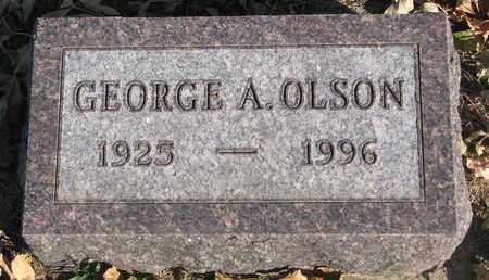 OLSON, GEORGE A. - Union County, South Dakota   GEORGE A. OLSON - South Dakota Gravestone Photos