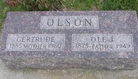 OLSON, GERTRUDE - Union County, South Dakota | GERTRUDE OLSON - South Dakota Gravestone Photos